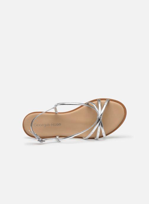 Sandales et nu-pieds Georgia Rose Dopini Argent vue gauche