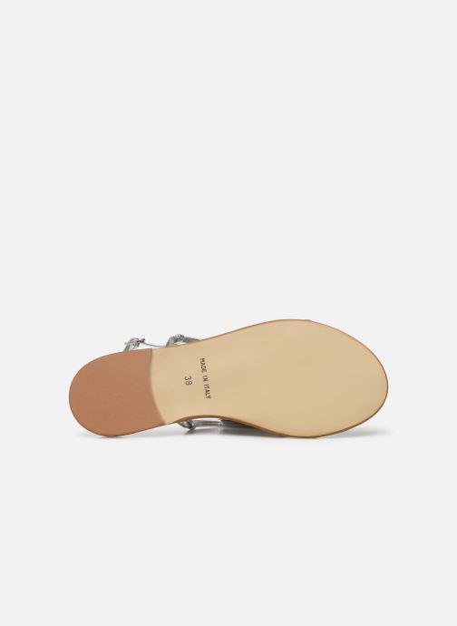 Sandales et nu-pieds Georgia Rose Dopini Argent vue haut