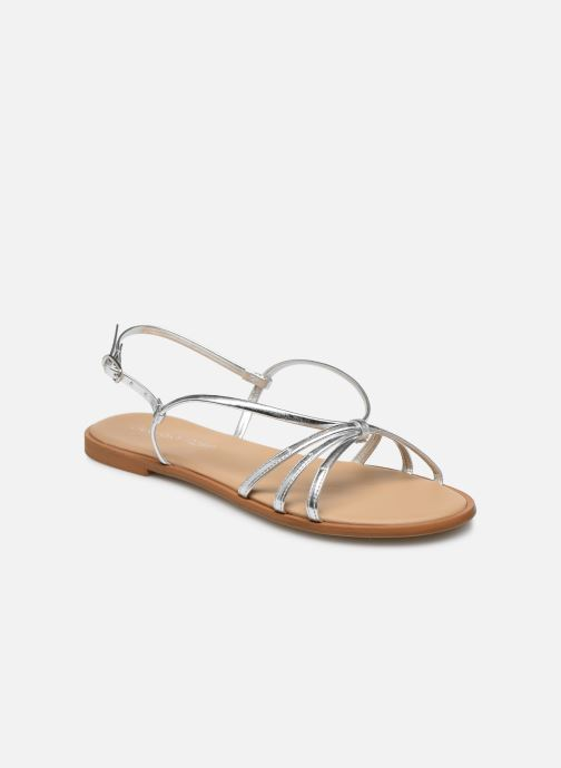 Sandales et nu-pieds Georgia Rose Dopini Argent vue détail/paire