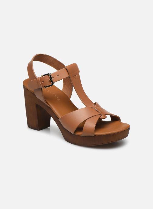 Sandales et nu-pieds Georgia Rose Dopatin Marron vue détail/paire