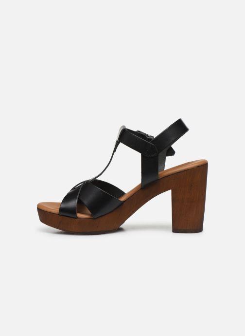 Sandalen Georgia Rose Dopatin schwarz ansicht von vorne