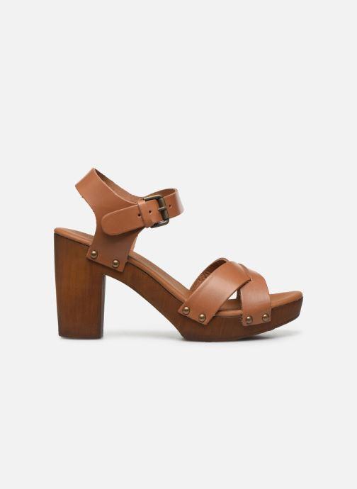 Sandales et nu-pieds Georgia Rose Dopiti Marron vue derrière