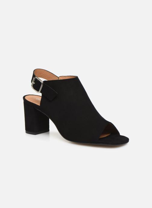 Sandales et nu-pieds Georgia Rose Toupinet Noir vue détail/paire