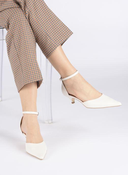 Zapatos de tacón Georgia Rose Tousina Blanco vista de abajo