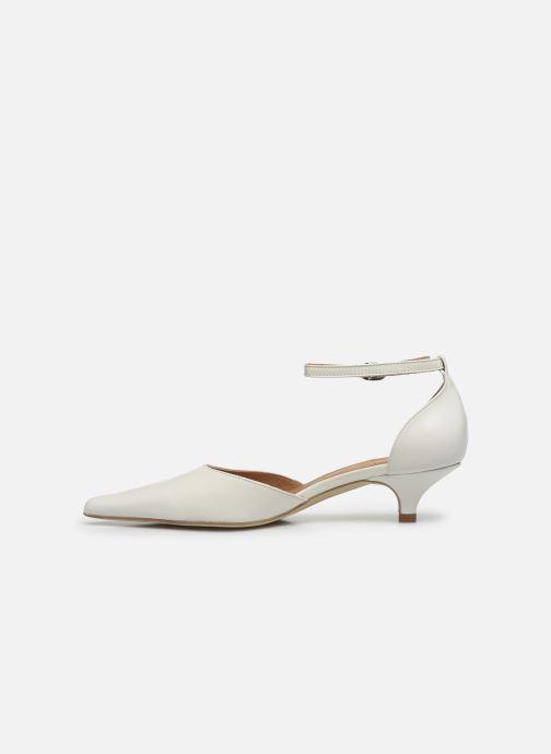 Zapatos de tacón Georgia Rose Tousina Blanco vista de frente