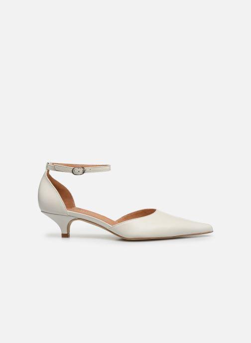 Zapatos de tacón Georgia Rose Tousina Blanco vistra trasera