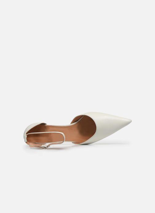 Zapatos de tacón Georgia Rose Tousina Blanco vista lateral izquierda