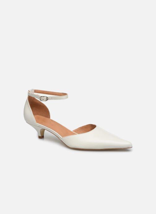 Zapatos de tacón Georgia Rose Tousina Blanco vista de detalle / par