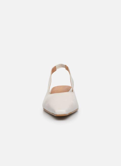 Zapatos de tacón Georgia Rose Tamiha Blanco vista del modelo