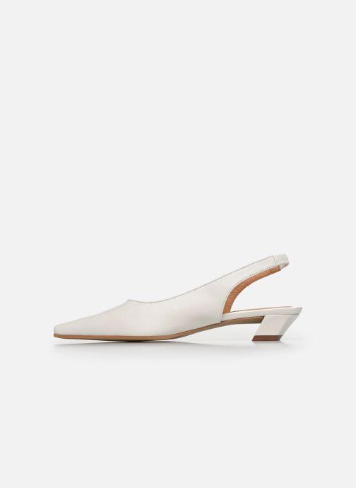 Zapatos de tacón Georgia Rose Tamiha Blanco vista de frente