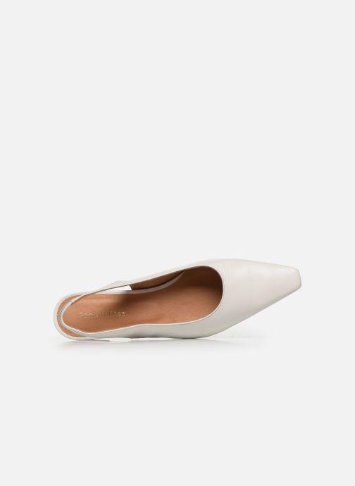 Zapatos de tacón Georgia Rose Tamiha Blanco vista lateral izquierda