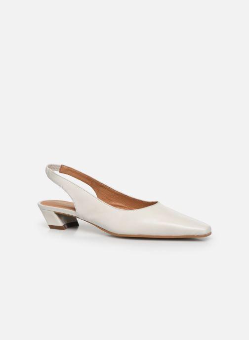 Zapatos de tacón Georgia Rose Tamiha Blanco vista de detalle / par