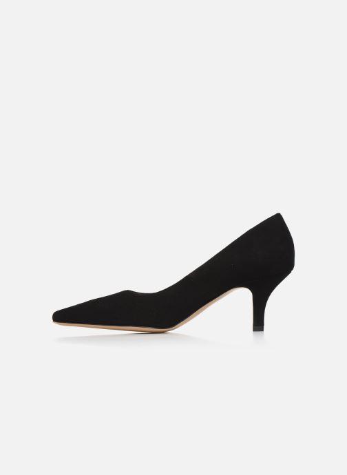 Zapatos de tacón Georgia Rose Tikito Negro vista de frente
