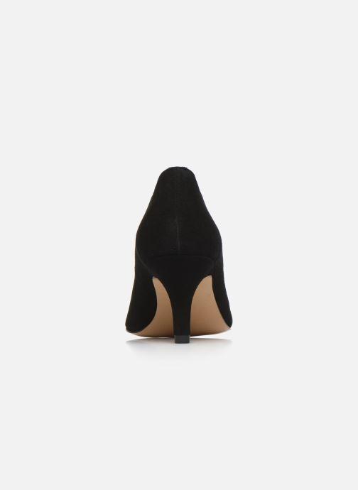 Zapatos de tacón Georgia Rose Tikito Negro vista lateral derecha