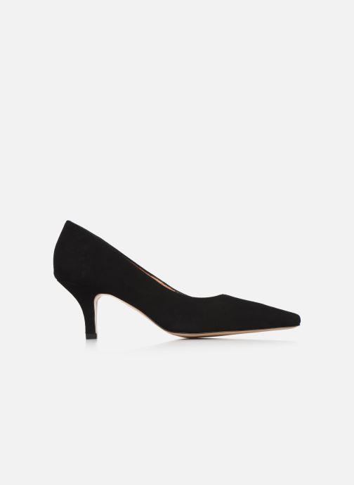 Zapatos de tacón Georgia Rose Tikito Negro vistra trasera