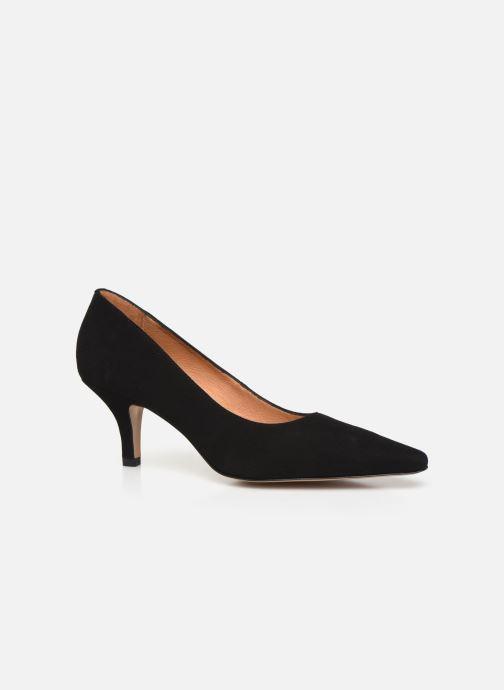 Zapatos de tacón Georgia Rose Tikito Negro vista de detalle / par