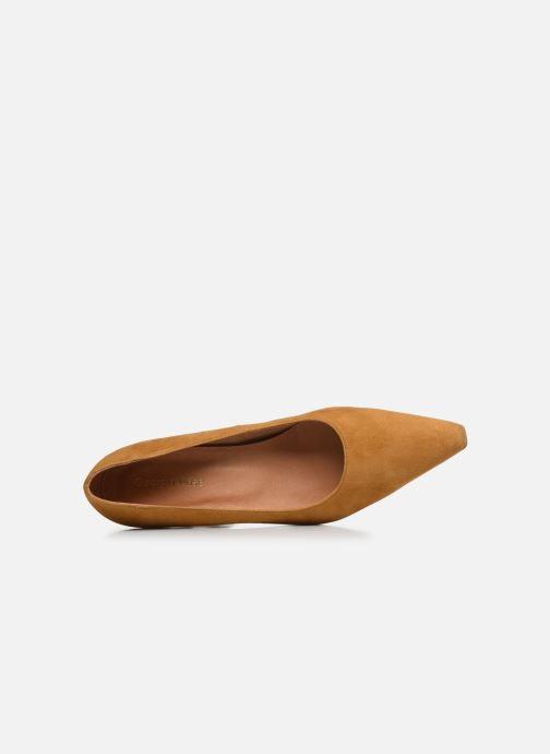 Zapatos de tacón Georgia Rose Tikito Amarillo vista lateral izquierda