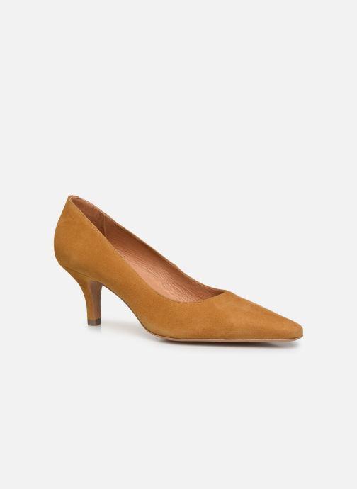 Zapatos de tacón Georgia Rose Tikito Amarillo vista de detalle / par
