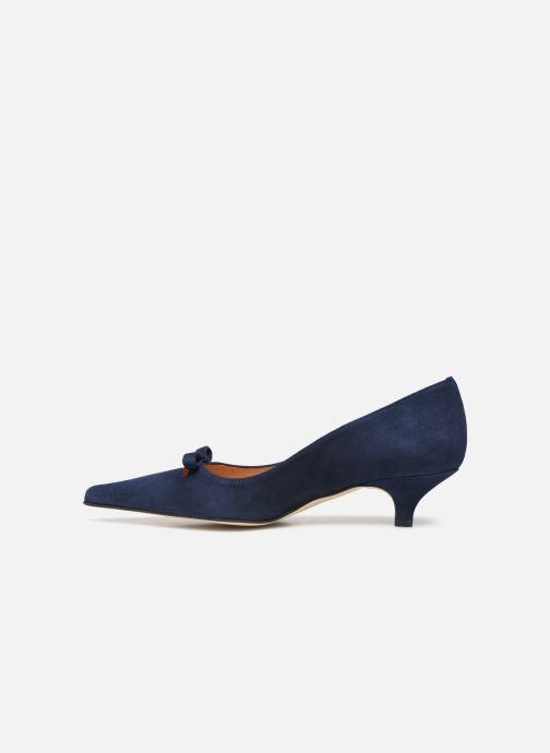 Zapatos de tacón Georgia Rose Ribona Azul vista de frente