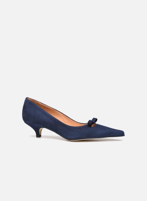 Zapatos de tacón Georgia Rose Ribona Azul vistra trasera