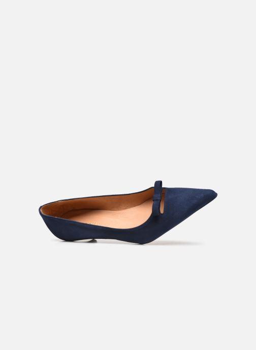 Zapatos de tacón Georgia Rose Ribona Azul vista lateral izquierda