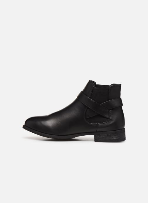 Ankle boots I Love Shoes THERNIER Black front view