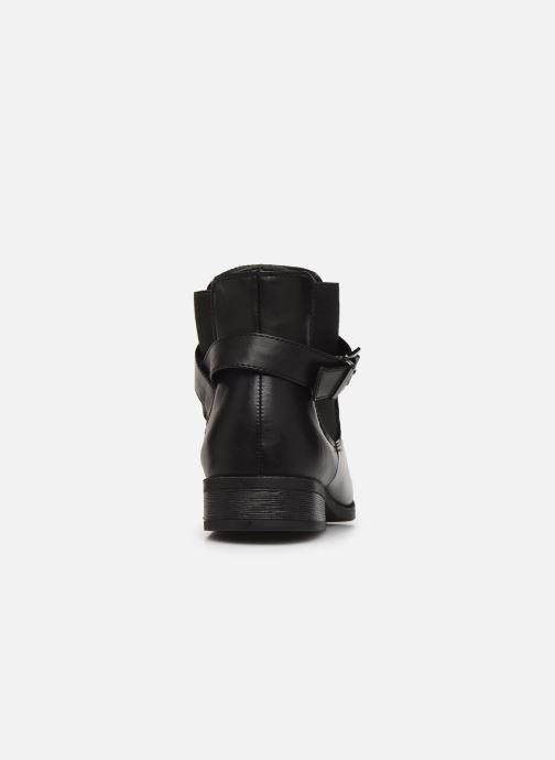 Ankle boots I Love Shoes THERNIER Black view from the right