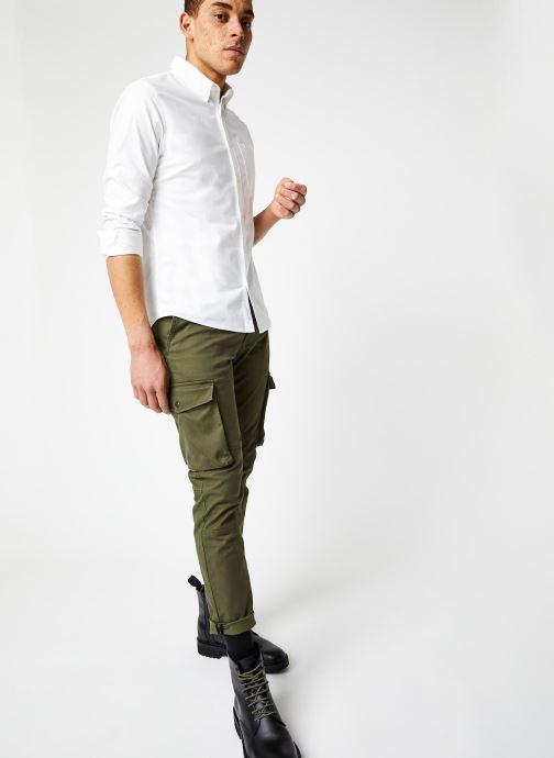 Vêtements Calvin Klein Jeans Skinny Washed Cargo Pant Vert vue bas / vue portée sac