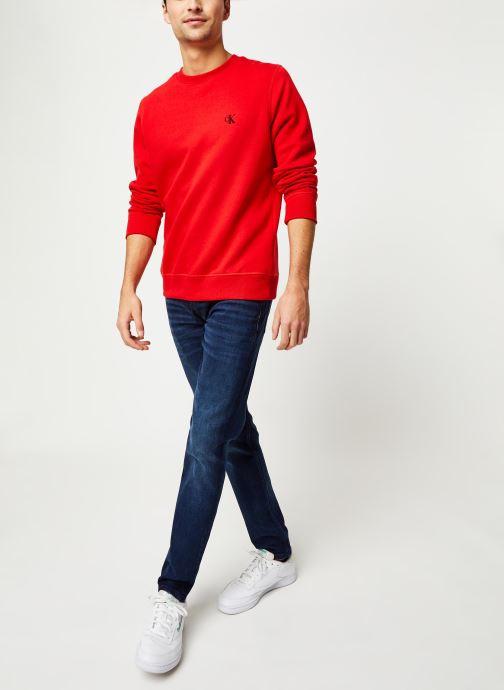 Vêtements Calvin Klein Jeans CK Essential Reg Cn Rouge vue bas / vue portée sac