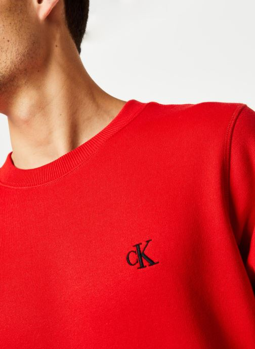 Vêtements Calvin Klein Jeans CK Essential Reg Cn Rouge vue face