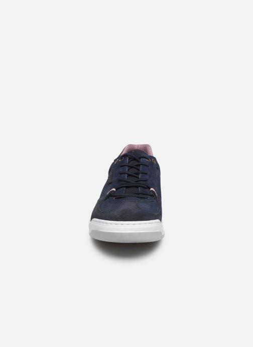 Sneaker Bullboxer 837K20407ABLNBSUSZ blau schuhe getragen