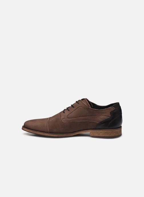 Chaussures à lacets Bullboxer 838K26702ADBBKSZ Marron vue face