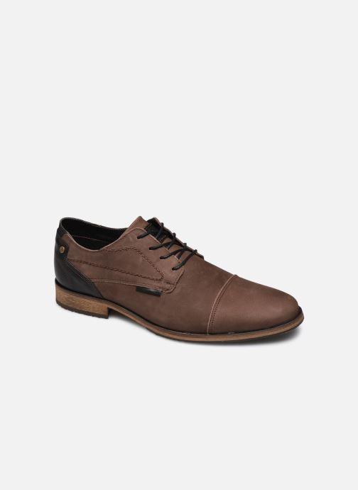 Snøresko Bullboxer 838K26702ADBBKSZ Brun detaljeret billede af skoene