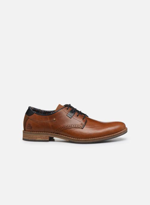 Chaussures à lacets Bullboxer 773K20462A2499SUSZ Marron vue derrière