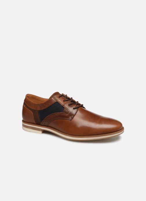 Chaussures à lacets Bullboxer 434K20437ACOORSUSZ Marron vue détail/paire
