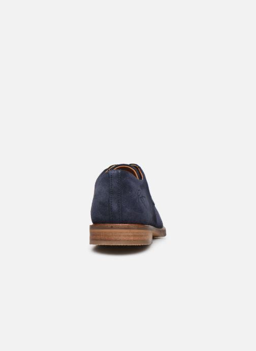 Zapatos con cordones Bullboxer 853K23837AC151SUSZ Azul vista lateral derecha