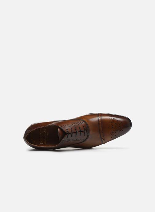 Zapatos con cordones Doucal's JIMMA Marrón vista lateral izquierda