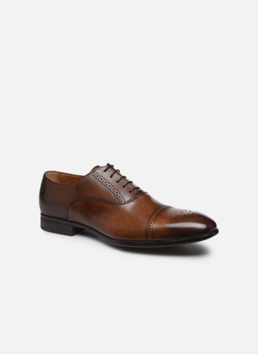 Zapatos con cordones Doucal's JIMMA Marrón vista de detalle / par