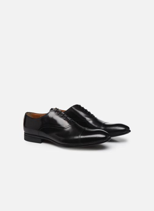 Chaussures à lacets Doucal's JIMMA Noir vue 3/4