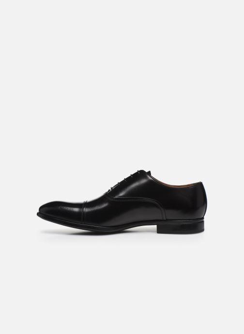 Chaussures à lacets Doucal's JIMMA Noir vue face