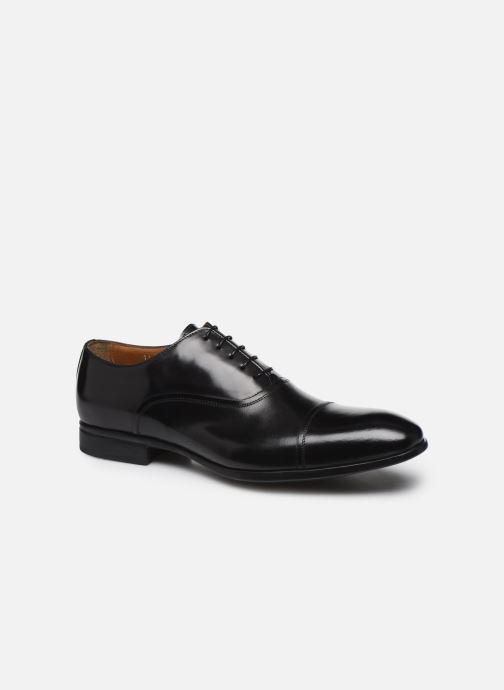 Chaussures à lacets Doucal's JIMMA Noir vue détail/paire