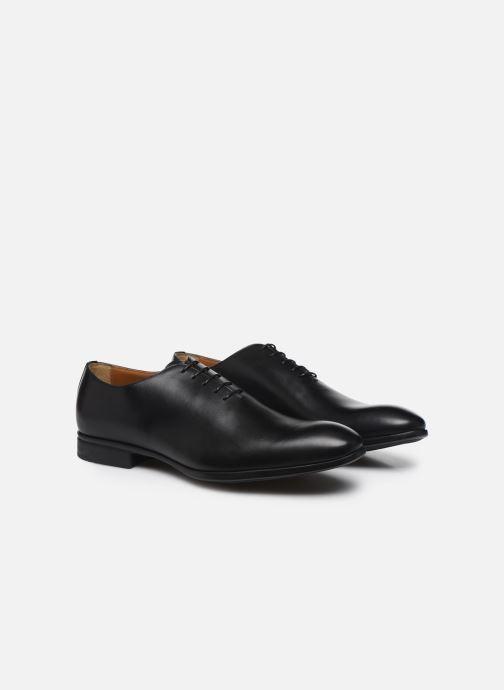 Chaussures à lacets Doucal's BORYS Noir vue 3/4