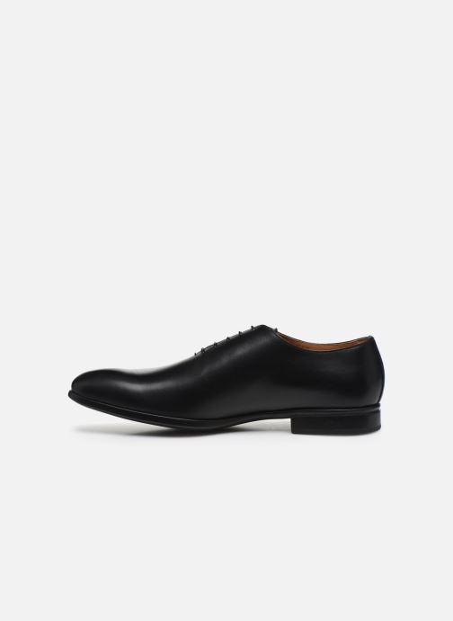 Chaussures à lacets Doucal's BORYS Noir vue face