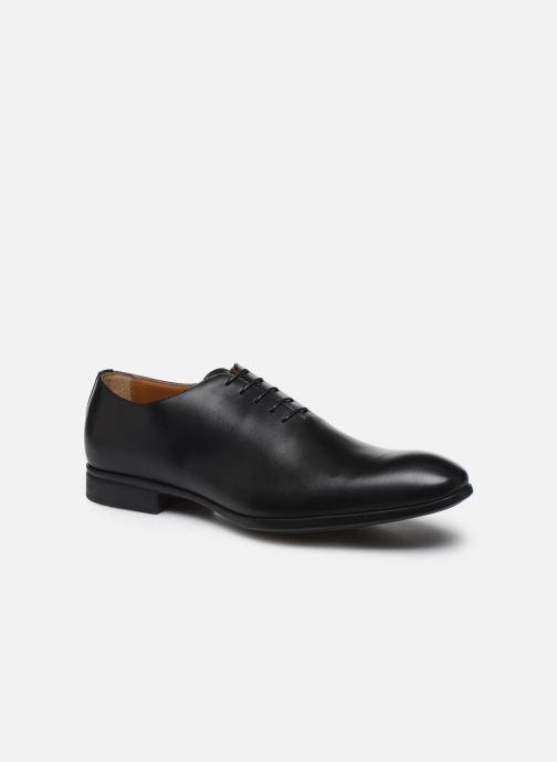 Zapatos con cordones Doucal's BORYS Negro vista de detalle / par