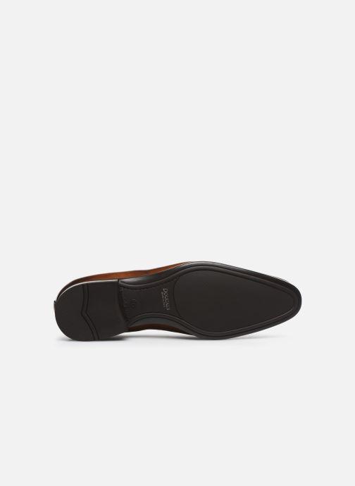 Zapatos con cordones Doucal's BORYS Marrón vista de arriba