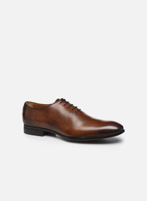 Chaussures à lacets Doucal's BORYS Marron vue détail/paire