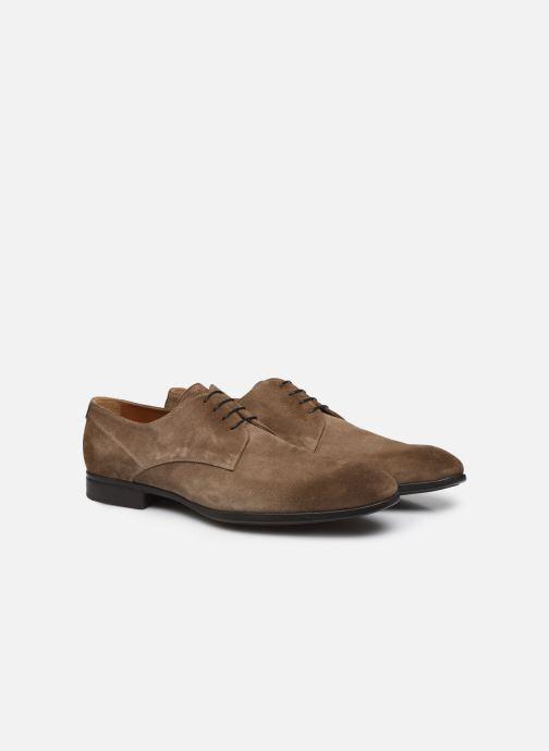 Zapatos con cordones Doucal's BORYS Marrón vista 3/4