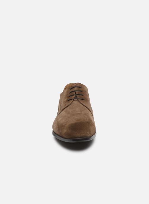 Chaussures à lacets Doucal's BORYS Marron vue portées chaussures