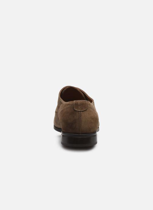 Chaussures à lacets Doucal's BORYS Marron vue droite