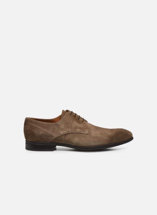 Chaussures à lacets Doucal's BORYS Marron vue derrière